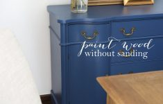 How To Antique Furniture With Paint And Stain Lovely Paint Without Sanding For Furniture Cabinets & Trim