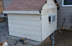 How To Build An Air Conditioned Dog House Luxury I Built My Two Dogs A Doghouse Equipped With An Air