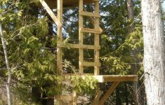 Hunting Tree House Plans Inspirational Free Deer Stand Building Plans Blinds Ladder & Platform