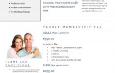 In House Dental Insurance Plans Beautiful In House Discount Plan