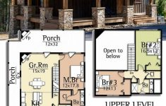 Lake House Floor Plans With Walkout Basement Luxury Cottage Mediterranean House Plans Narrow Small Lake With