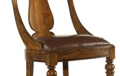 Leather Furniture Repair Atlanta Ga Elegant Mcmurry Leather Upholstered Side Chair In Chestnut
