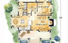 Log Style House Plans Elegant Log Style House Plan With 2 Bed 2 Bath