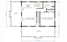 Log Style House Plans New Log Style House Plan With 2 Bed 2 Bath