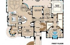 Mansion House Plans 8 Bedrooms Luxury Mediterranean Style House Plan 6 Beds 6 Baths 8364 Sq Ft Plan 27 538