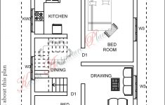 Model House Plans Free Elegant 1200 Square Feet Kerala House Plan Best Three Bedroom House