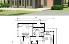 Modern 1 Bedroom House Plans Elegant Contemporary Butterfly 600 In 2020