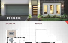 Modern Double Storey House Plans Inspirational Waterbrook 28