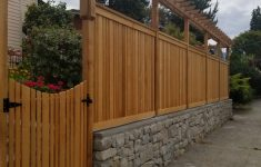 Modified Panel Fence Inspirational Cedar Modified Panel