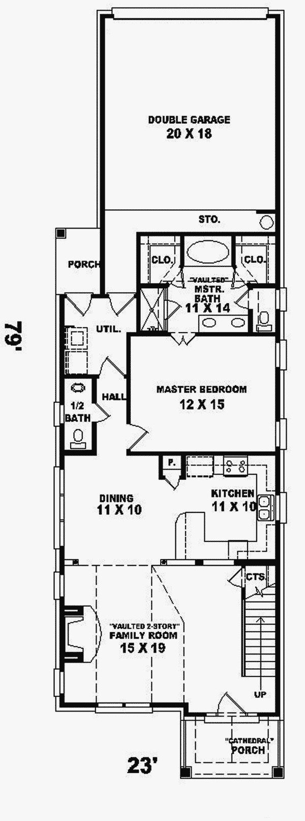Narrow Lot Luxury House Plans 2020