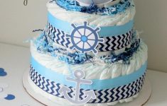 Nautical Baby Shower Decorations For A Boy Beautiful Nautical Baby Shower Centerpieces Nautical Diaper Cake Sailor Diaper Cakes Ahoy It S A Boy Baby Shower Decorations