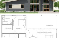 One Story Contemporary Home Plans Unique Single Story Home Plan
