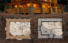 One Story Log House Plans Inspirational Another Beautiful One Even Es With The Floor Plans