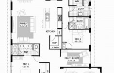One Story Rectangular House Plans Beautiful Open Floor House Plans E Story Nice 4 Bedroom Rectangular