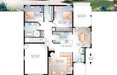 Open House Plans With Pictures New Ranch Bungalow House Plan With Galley Kitchen Open Floor