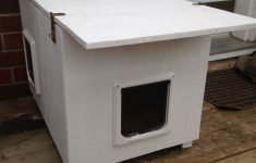 Outside Cat House Plans Inspirational Cat House For The Winter And For Feral Cats 13 Steps