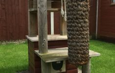 Outside Cat House Plans New Cat Play Tower Out Door Home Made Diy Cat Tower Den For My
