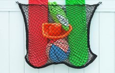 Pool Toy Storage Net Elegant Over The Fence Hooks And Hangers