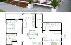 Simple Cost Effective House Plans Luxury House Plans 10x8m With 3 Bedrooms In 2020