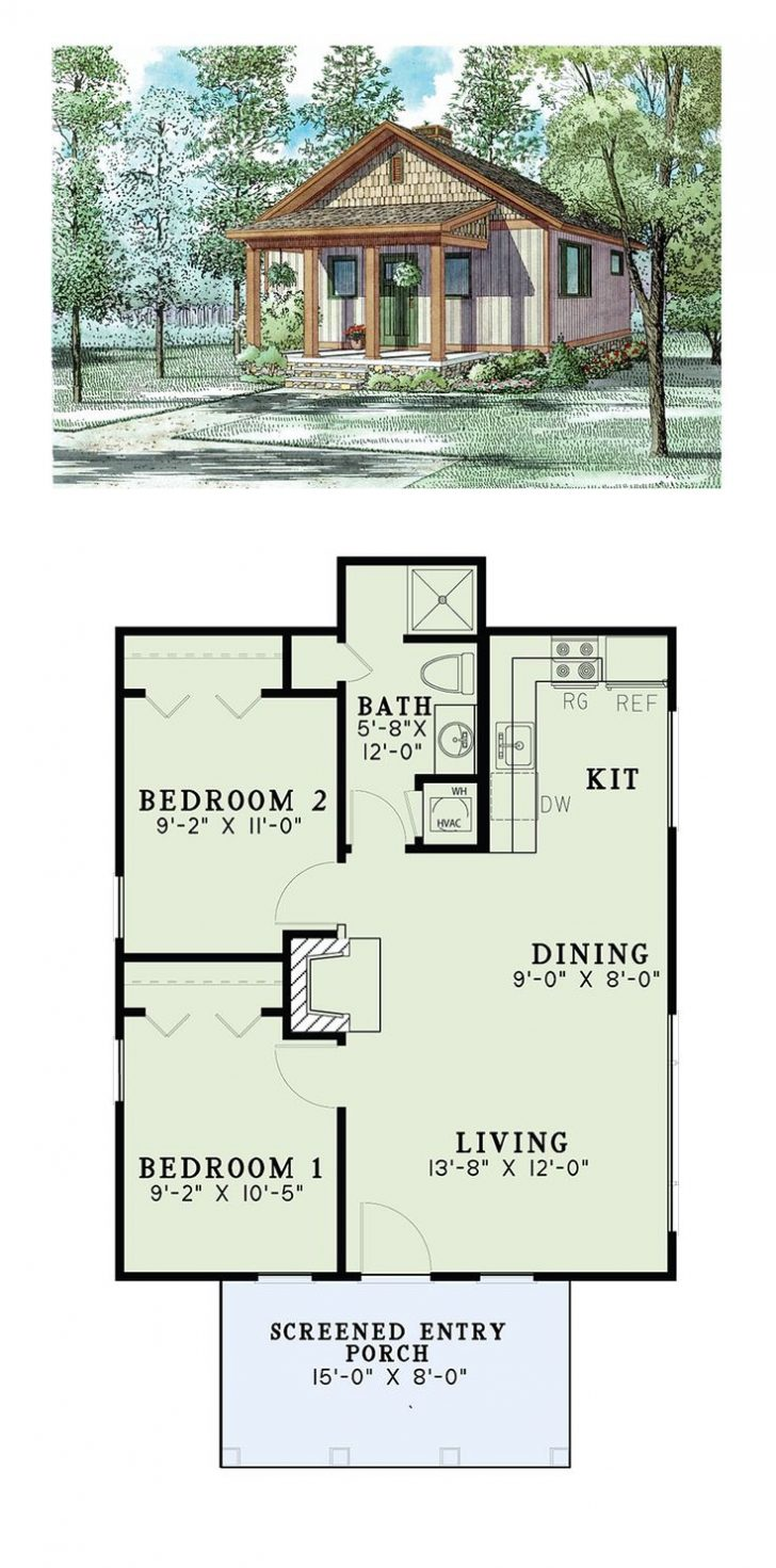 Small Adobe House Plans 2021