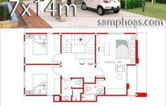 Small Home Design Plans Elegant Small Home Design Plan 6x11m Mit 3 Schlafzimmern Samphoas