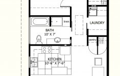 Small House Plans One Story New 800 Sq Ft