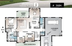 Small House Plans With 2 Master Suites New House Plan With 2 Master Suites 3 Car Garage Formal Dining