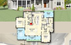 Small House Plans With 2 Master Suites New Plan Jj Exclusive Modern Farmhouse Plan With Two
