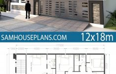Small Modern House Plans One Floor Best Of Home Design 40x60f With 4 Bedrooms