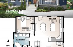 Small Open House Plans Lovely E Story Economical Home With Open Floor Plan Kitchen With