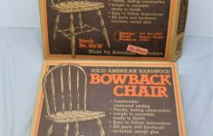 Solid Wood Furniture Kits New Lot Of 2 Nos Whittier Wood Products 90w Bowback Chair Solid Wood Chair Kits