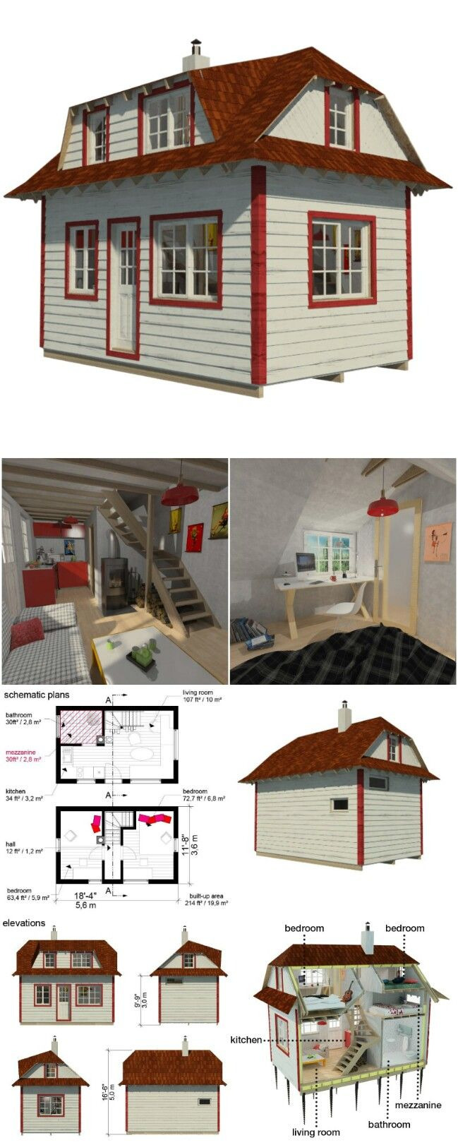 Tiny House Plans for Families 2020