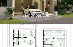 Unique House Designs And Floor Plans New House Plans Plot 10x20m With 3 Bedrooms