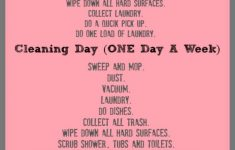 Wave House Cleaning Unique 7 Days To A Clean House A Very Detailed 7 Day Schedule