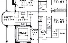 12 Sq Ft House Plans New Country Style House Plan 3 Beds 2 Baths 1700 Sq Ft Plan 929 43