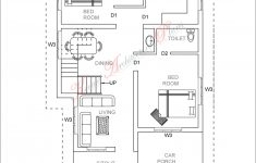 1500 Sq Ft Modern House Awesome 3 Bed Room 1500 Square Feet House Plan