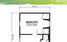 2 Bedroom Cottage House Plans Beautiful Cottage Style House Plan 1 Beds 1 Baths 416 Sq Ft Plan