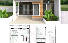 2 Storey Small House Design Elegant House Plans 7x15m With 4 Bedrooms
