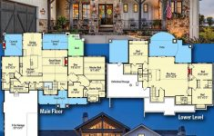 3600 Sq Ft House Plans India New Plan Rw New American House Plan With Amazing Views To