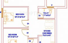 850 Sq Ft House Plans Beautiful 100 [ 2bhk House Plans ]