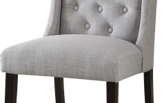 Acme Furniture Outlet New Acme Furniture Brenda 2 Piece Accent Chair In Light Gray Linen