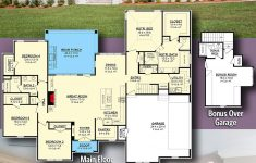 Add On House Plans Awesome Plan Hz 4 Bed Southern House Plan With Bonus Over