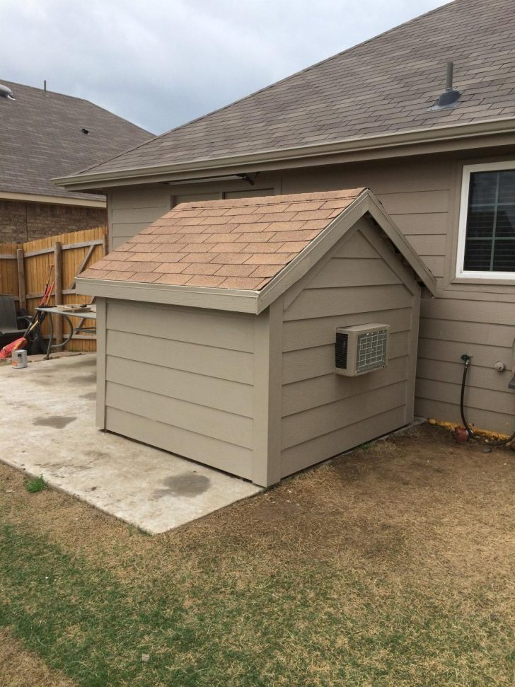 Air Conditioned Dog House Plans 2021