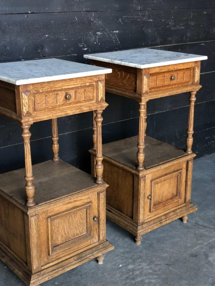 Antique Bedroom Furniture with Marble top 2020