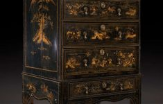 Antique Black Lacquer Furniture Inspirational Queen Anne Black Lacquered Chinoiserie Japanned Chest On