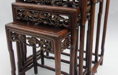 Antique Chinese Furniture Dealers Fresh Antique Chinese Carved Hardwood Quartetto Tables La