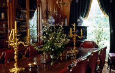 Antique Dining Room Furniture Styles Beautiful Edwardian Style Glass And Brass Light Fitting Above An