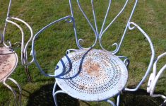 Antique French Garden Furniture New Vintage French Garden Chairs Odd Set Of Four Sold