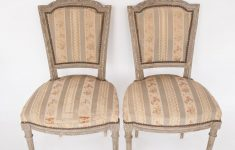 Antique French Painted Furniture Beautiful Pair Antique French Painted Chairs With Bow Garland Crest