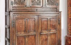 Antique Furniture For Cheap New Charles Ii Oak Carved Press Cupboard